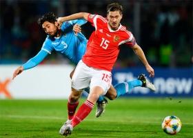 Сборная России забила Сан-Марино 5 голов в отборочном матче к Евро-2020