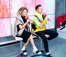 2019 - Ульяна Пылаева и Алексей Летучий на Радио ENERGY