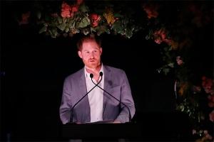 Первое выступление принца Гарри после лишения королевского титула