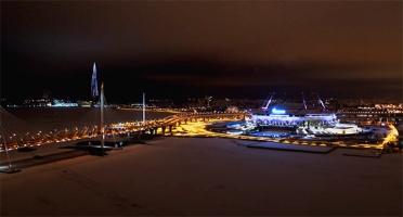 Второй шанс для новогоднего желания. Смотрите полную версию светового шоу из Петербурга